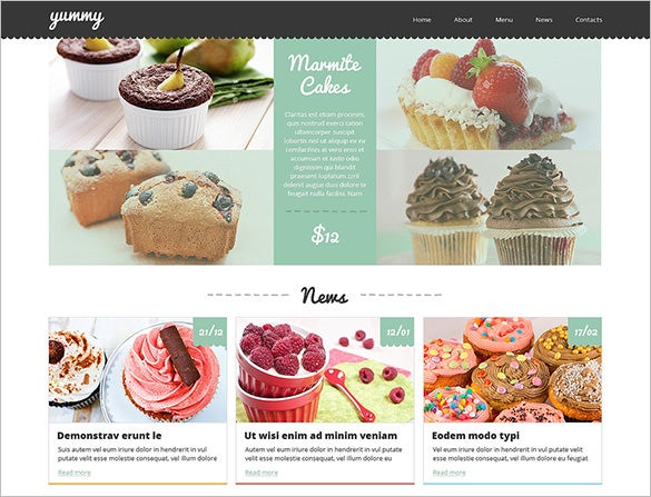 sweet shop joomla template