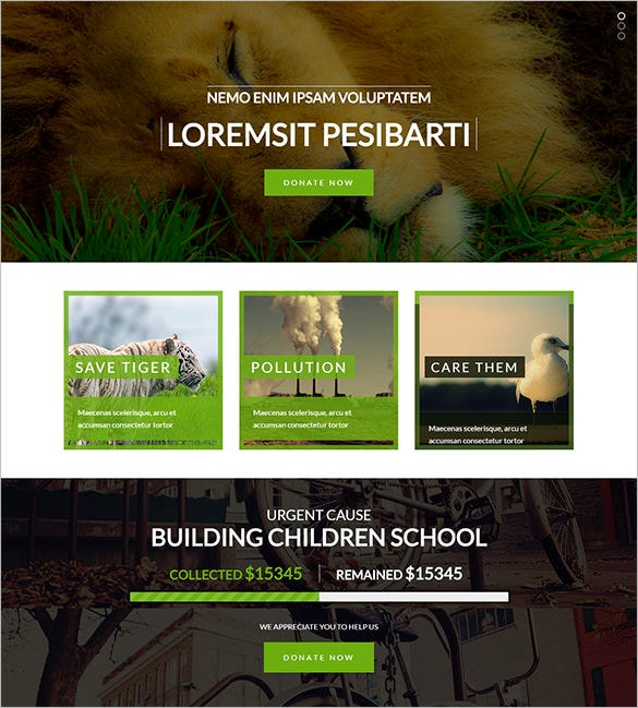 multi purpose non profit joomla theme