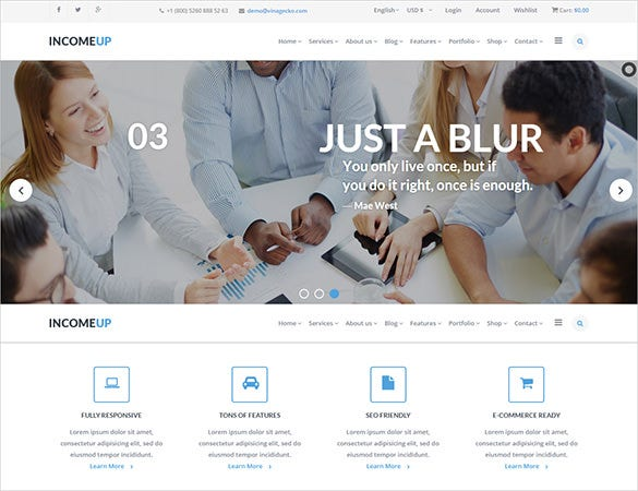 corporate multi purpose publisher joomla template