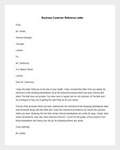 Business-Customer-Reference-Letter