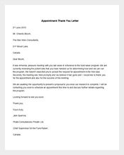 Sample-Appointment-Thank-You-Letter-Template