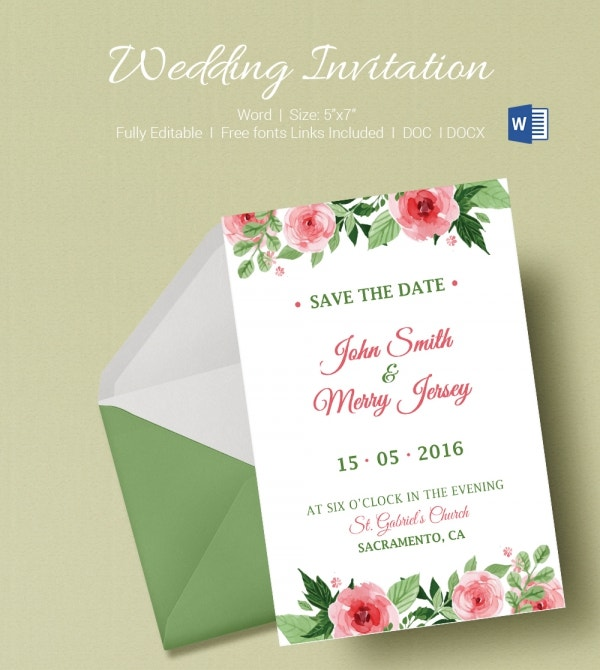 Marriage Invitation Sample Email. Wedding Invitation Letter To