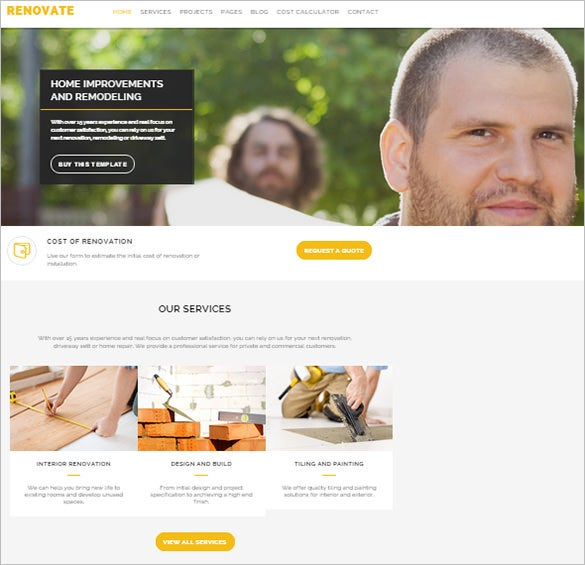 retina ready renovation joomla template