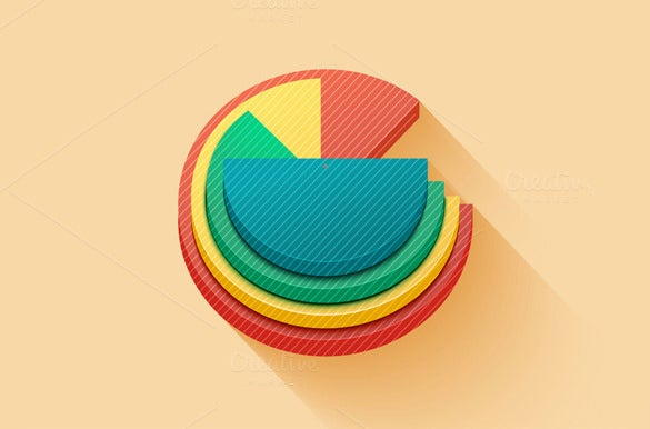 eps pie chart template sample download