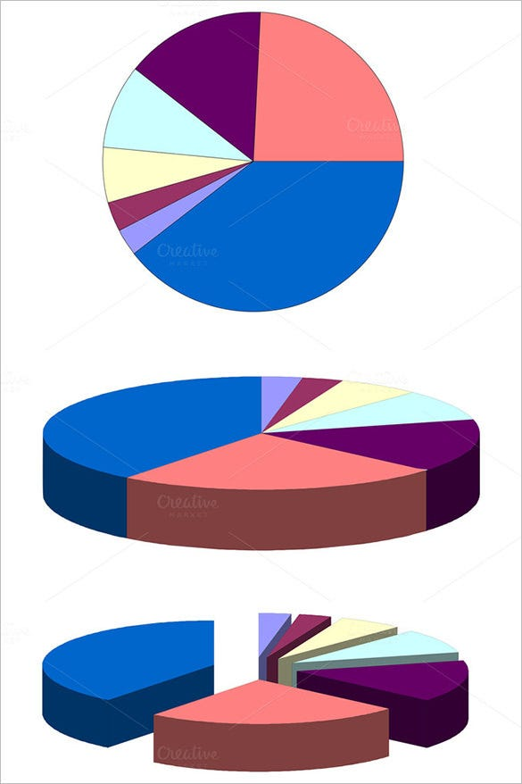 sample pie chart template download