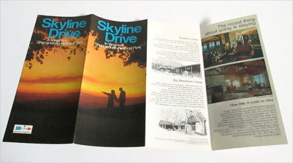skyline-drive-travel-brochure