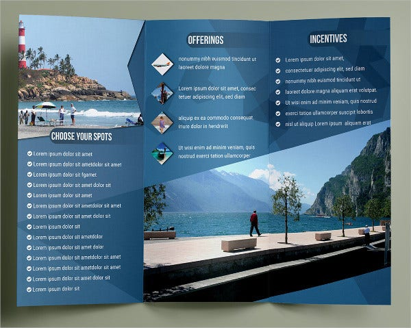 Travel Brochure Template - 24+ Free Psd, Vector Eps, Png Format