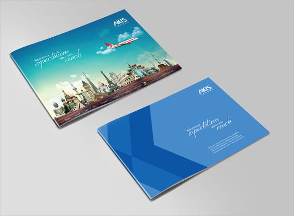 axis travels brochure