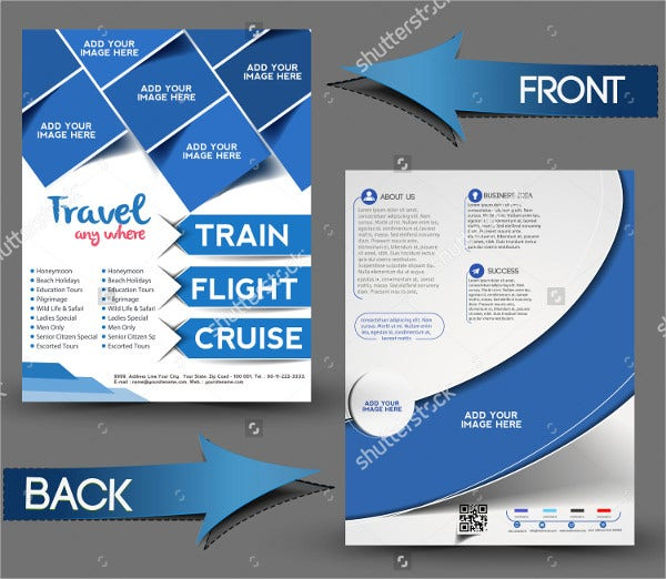 vector travel center brochure