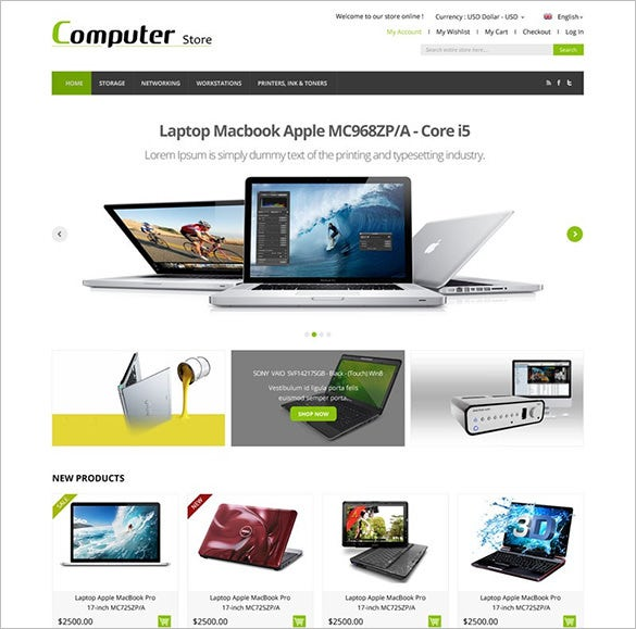 professional computer services magento theme