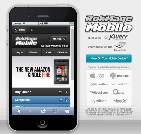 rokmage mobile store magento theme