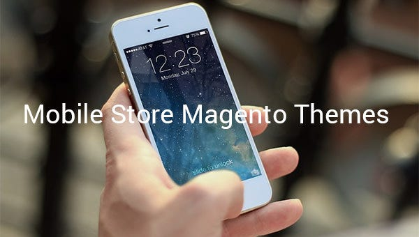 mobile store magento themes