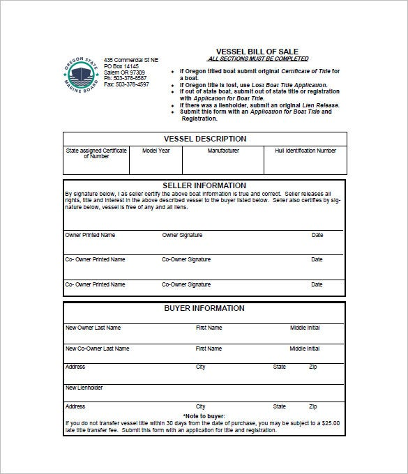 nc bill of sale for boat koni polycode co