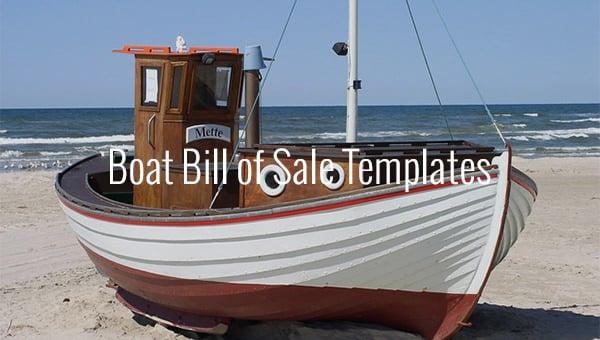 boatbillofsaletemplates