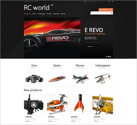 toy store responsive magento template