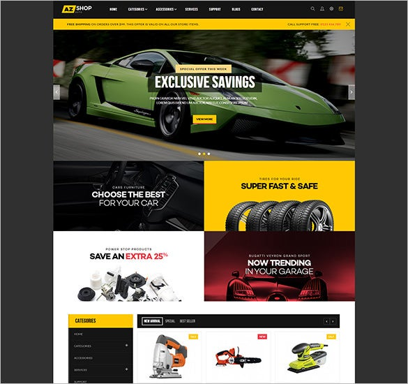 tools shop responsive multipurpose magento theme