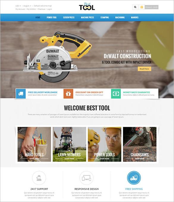 tools magento responsive theme
