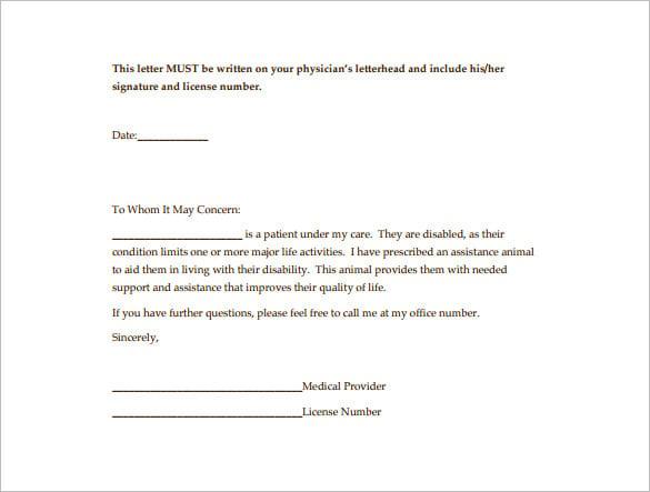 letter for service dog cover letter samples cover
