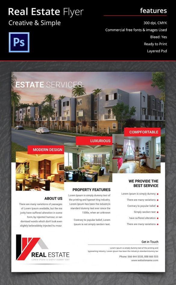 Real Estate Flyers Novaondafmtk - Luxury real estate brochure templates