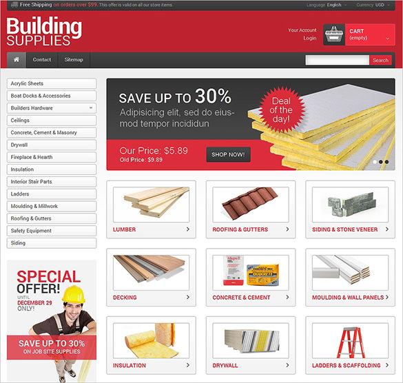 Building Maintenance Services Presta Template
