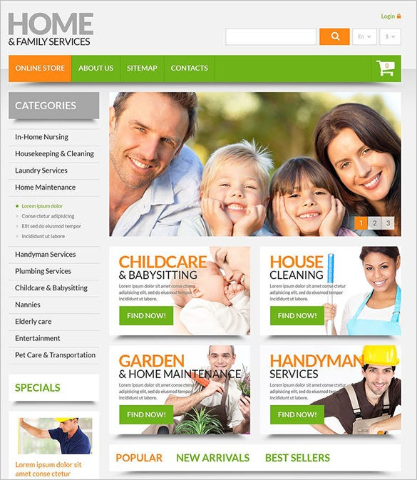 premium home maintenance prestashop theme