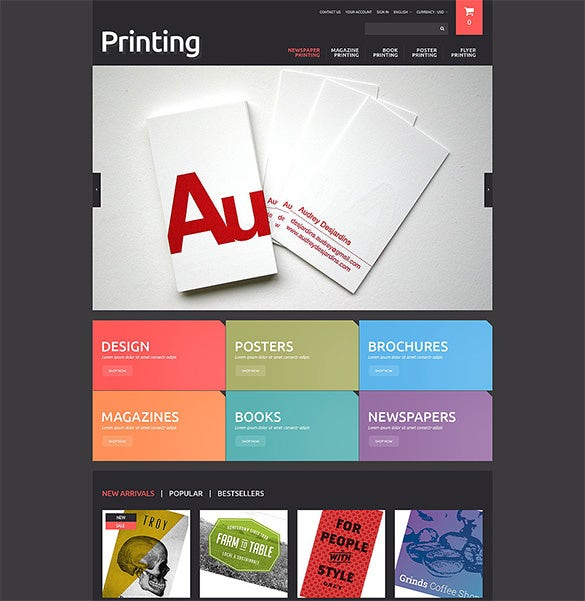 5 print shop prestashop themes templates free premium templates
