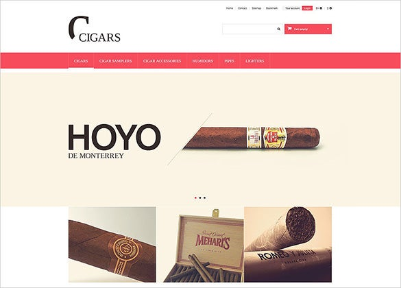 perfect cigars tobacco prestashop theme