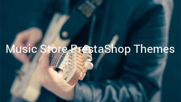 music store prestashop themes