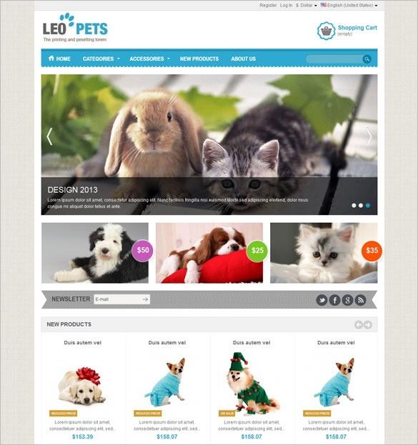 professional pets prestashop theme