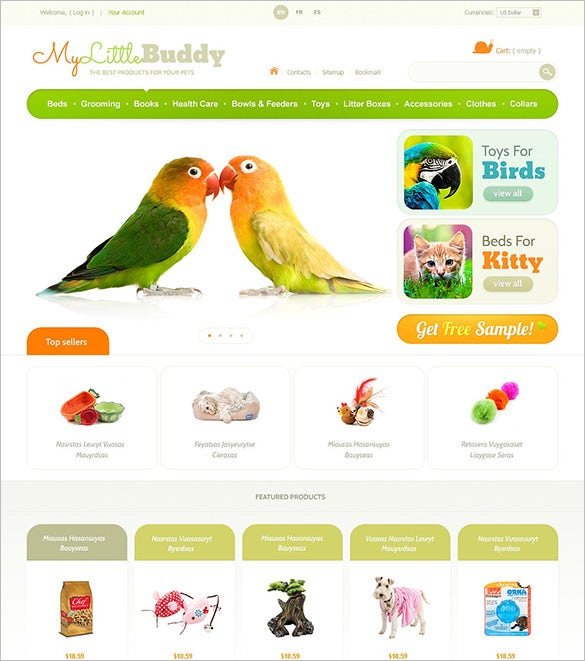 web templates website templates animal pets website theme