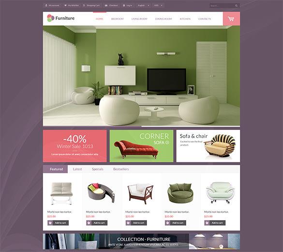 leo furniture prestashop theme