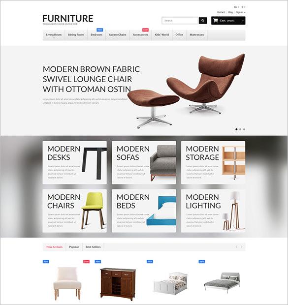 interior design furniture prestashop theme