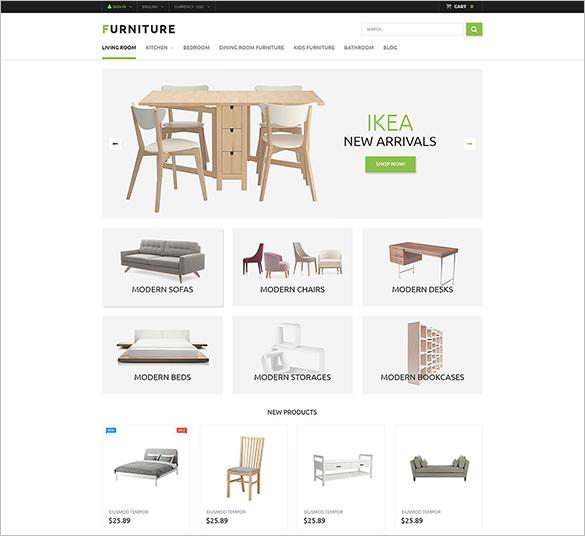 interior design prestashop theme
