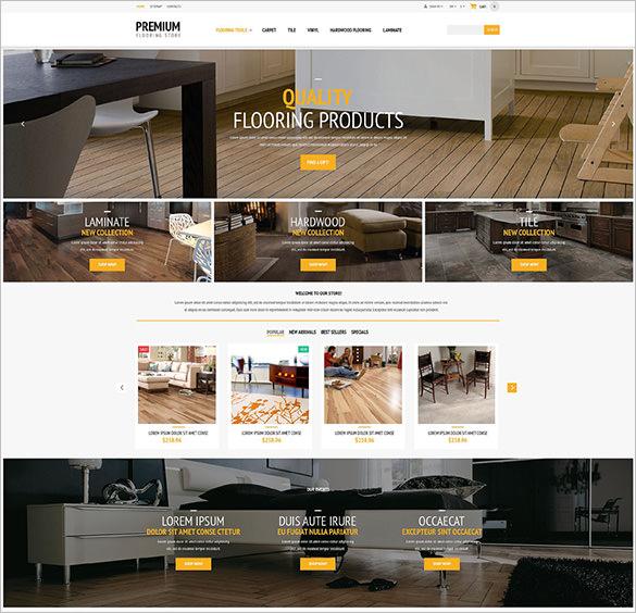 flooring responsive prestashop template