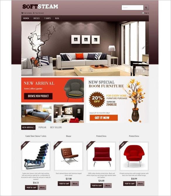 softsteam interior design prestashop theme