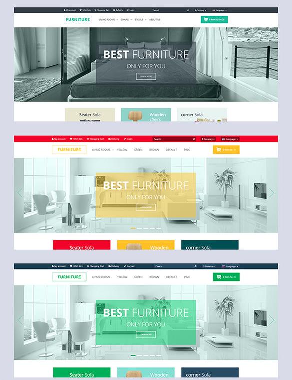 elegant furniture responsive prestashop theme