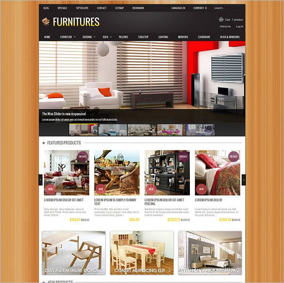 balim furniture prestashop theme