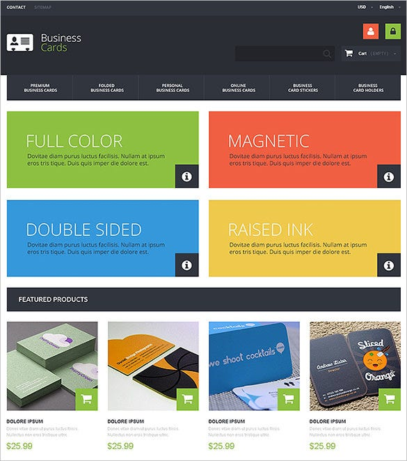 colorful business services prestashop template