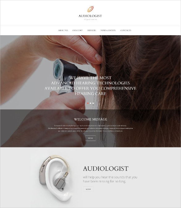 HealthCare Equipment Website Template