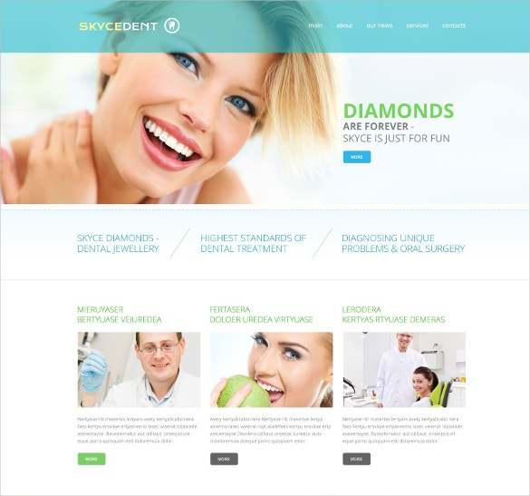 Dental HealthCare Responsive Website Template