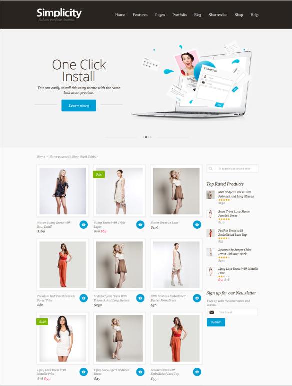 eCommerce Portfolio Jogoshop WordPress Theme