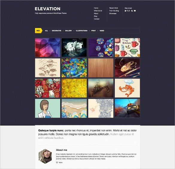 Elevation Portfolio PHP Theme