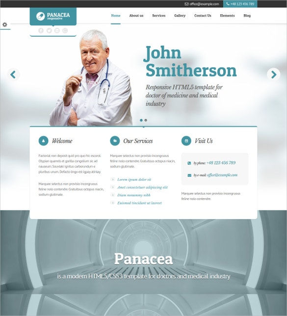 Awesome Doctor Joomla PHP Template