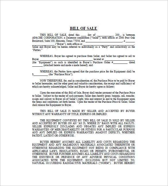 Networkintl.com | The Business Bill Of Sale PDF Is An Example Of A Bill Of  Sale Template In PDF Format That Outlines All The Significant Legal  Details, ...