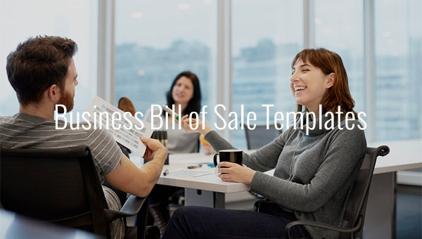 business bill of sale templates