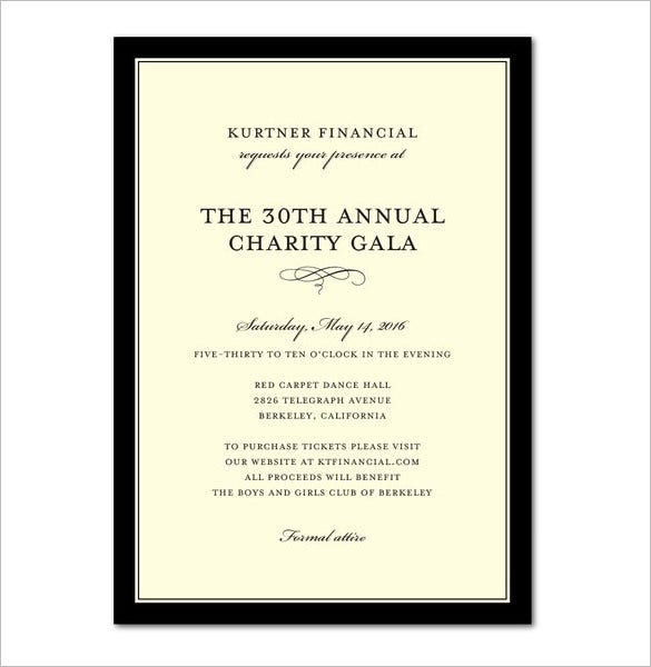 Invitation template 43 free printable word pdf psd for Formal invitation template for an event