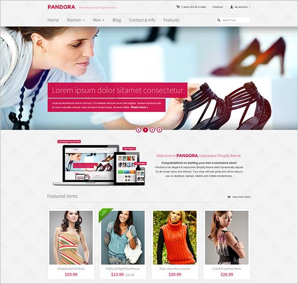 responsive shopify html5 theme