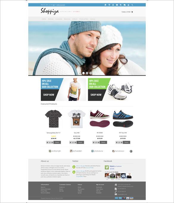 shoppiza responsive html 5 opencart theme