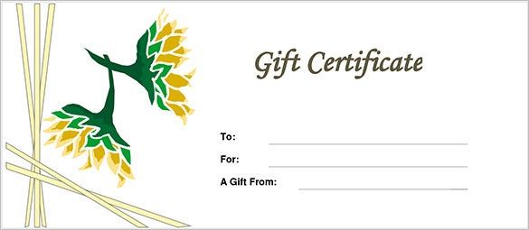 free gift certificate template mac download