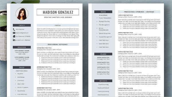 zookeeper resume templates